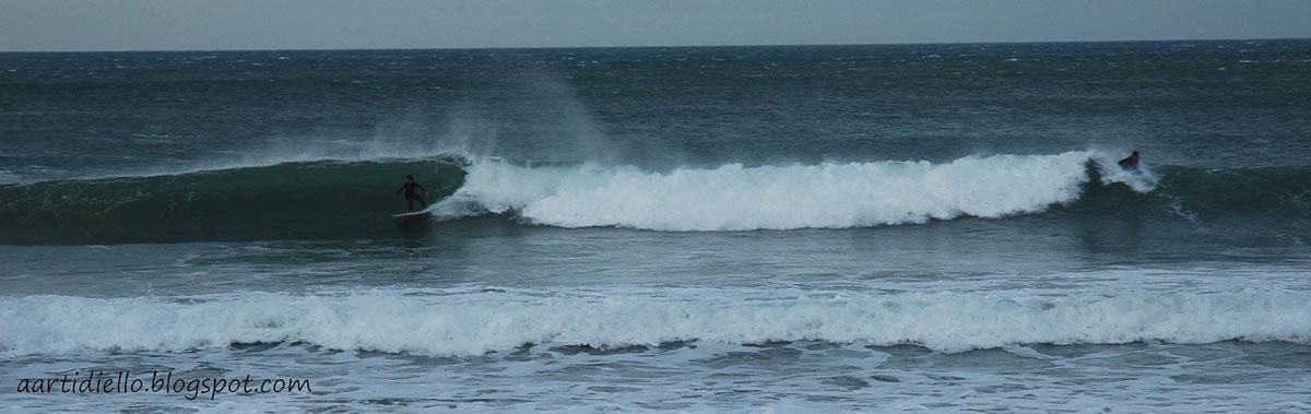 Surf en el Arenal de Morís