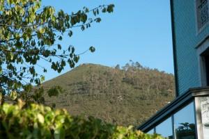 Vista de La Forquita desde nuestro jardín