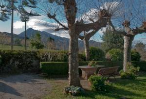 El Pico Pienzo desde el Hotel la Raposera