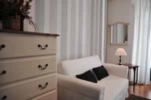 Salón de la suite La Raposera